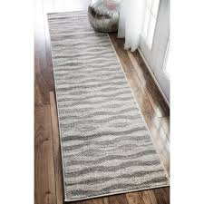 rug runners contemporary soft and plush the pile on this contemporary area rug is made