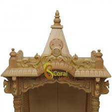 beautiful big wooden temple designs for home photos interior
