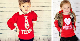valentines shirts adorable personalized kids valentines shirts 13 99 from 28