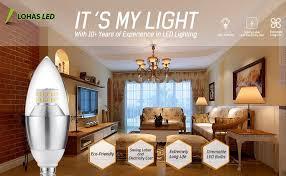 fcc compliant led lights lohas led candelabra bulb dimmable 60 watt light bulbs equivalent