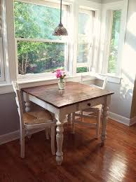 White Farmhouse Kitchen Table by Best 10 Small Dining Tables Ideas On Pinterest Small Table And
