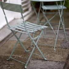 Metal Folding Bistro Chairs Streetscapes