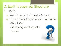 South Dakota what type of seismic waves travel through earth images Earthquakes earth 39 s interior ppt download jpg