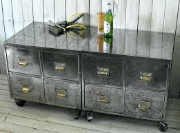 Yellow Metal Filing Cabinet Industrial File Cabinet Vintage Industrial Style Filing Cabinets