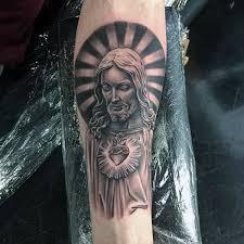 nice sun jesus tattoos golfian com