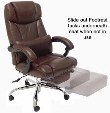 Office Chair Recliner Design Ideas Reclining Office Chair W Footrest