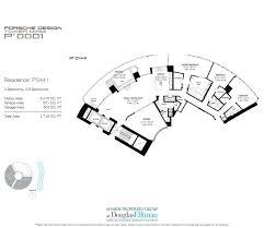 porsche design tower miami floor plans luxury oceanfront condos