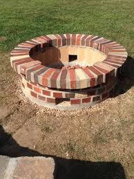 Firepit Bricks Need Advice Pit Brick Work Mortar Splitting Concrete