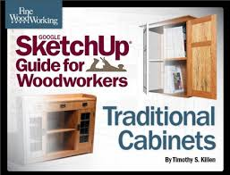 announcement my new ebook sketchup and traditional cabinets
