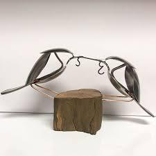 unique cutlery matt wilson turns old cutlery into unique metal sculptures 7