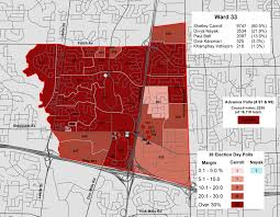 2014 Election Map by Mapping The 2014 Toronto Election Wards 33 And 34 Don Valley