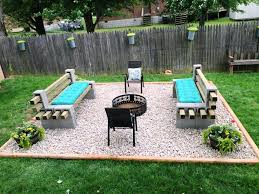 creative cinder block furniture backyard condointeriordesign com