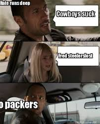 Cowboys Suck Memes - meme maker cowboys suck fred steelerslost hate runs deep go packers
