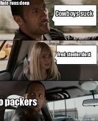 Packers Memes - meme maker cowboys suck fred steelerslost hate runs deep go packers