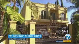 Brentwood California Celebrity Homes by Police Say 1 Gang Likely U0027flocking U0027 Celebrity Homes In Los Angeles