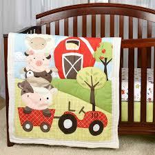 Farm Crib Bedding Baby S By Nemcor Mcdonald S Farm Bedding Set 3
