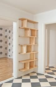 cool built in shelves what if we did this to make a pantry or