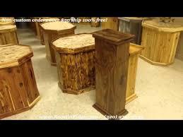 Sweet Solid Wood Black Walnut Art Display Pedestal Youtube