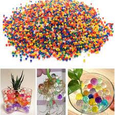 Wedding Home Decor 10000pcs Crystal Soil Hydrogel Gel Polymer Water Beads Flower