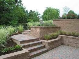 Split Level Garden Ideas Ideas Free Home S Split Level Landscaping Project Backyard Split