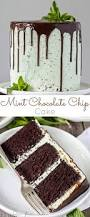 this mint chocolate chip cake is a mint lover u0027s dream layers of