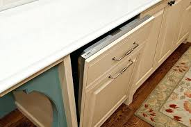 cabinet opening for dishwasher dishwasher in cabinet panel front dishwasher detail traditional
