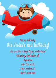 airplane birthday invitations ideas u2013 bagvania free printable