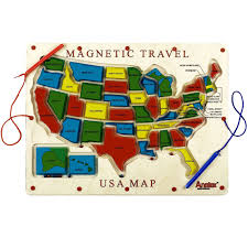 Travel Map Of Usa by Shop Wiggies World Inc