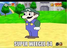 Weegee Memes - super weegee 64 make a meme