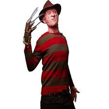Freddy Halloween Costumes Halloween Fancy Dress Mask Party Costume Freddy Krueger Hat Shirt
