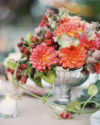 wedding flower arrangements 39 simple wedding centerpieces martha stewart weddings
