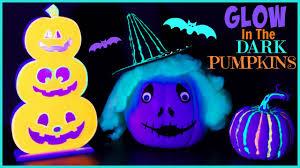 diy halloween room decor glow in the dark pumpkins mallory