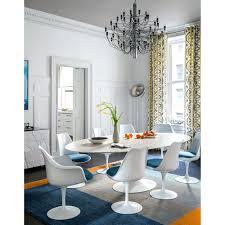 saarinen oval dining table reproduction clear eames chair 38 photos 561restaurant com