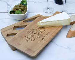personalized cheese tray custom cheese board etsy