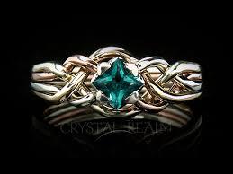 avalon wedding band avalon puzzle engagement ring with lab created emerald