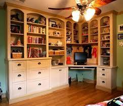 Corner Desk Shelves Corner Desk Shelf Unit Shelves And Bookshelf With Built In Photo