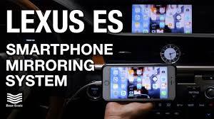 lexus factory uk 2015 2017 lexus es 350 es 300h with factory navigation iphone