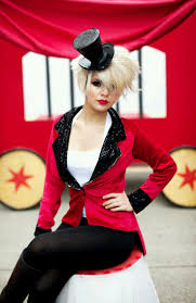 houston halloween party 2017 contrast a simple red blazer with black sequins for added flare at