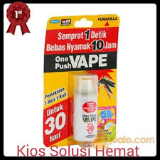 Obat Nyamuk Vape one push vape 30 hari obat spray semprot anti nyamuk jakarta