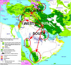 Mideast Map A New Harbinger And An Enabler For The Iranian Invasion U2013 The
