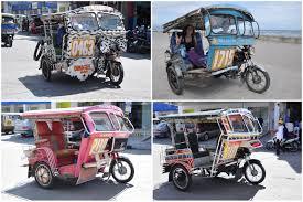 philippine pedicab avec les jeepneys le tuning devient du street art aux philippines