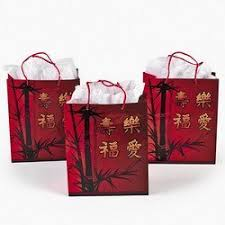 bag new year new year gift bags with handles 1 dozen home
