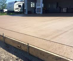 Wood Grain Stamped Concrete by Stamped Concrete In Cold Lake By Superb Concrete