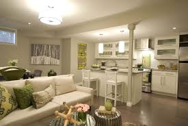 endearing kitchen and living room design with home interior
