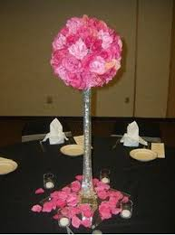 eiffel tower centerpieces ideas i like this half globe pomander of roses with the eiffel tower