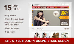 web shop design store templates from themeforest