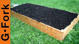 What Type Of Wood Is Best For Raised Garden Beds Simple Raised Garden Bed Plans Gardenfork Youtube