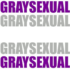 Sexuality Flags Graysexual Typography By Pride Flags On Deviantart