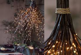 how to a woodland chandelier twig lights chandeliers and diy