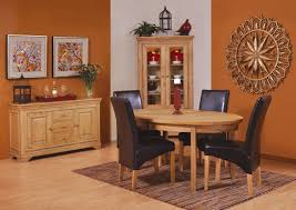 Orange Dining Room Chairs Most Popular Oak Dining Room Furniture Home Design Ideas